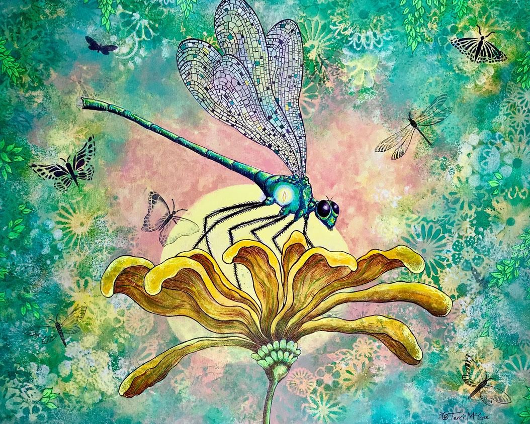 InnerLight Dragonfly1 16x20 canvas web