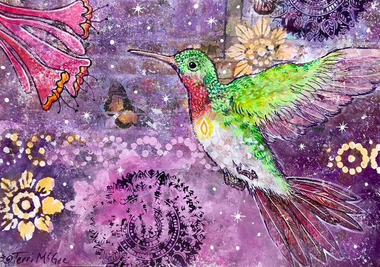 InnerLight Hummingbird14 5x7 paper