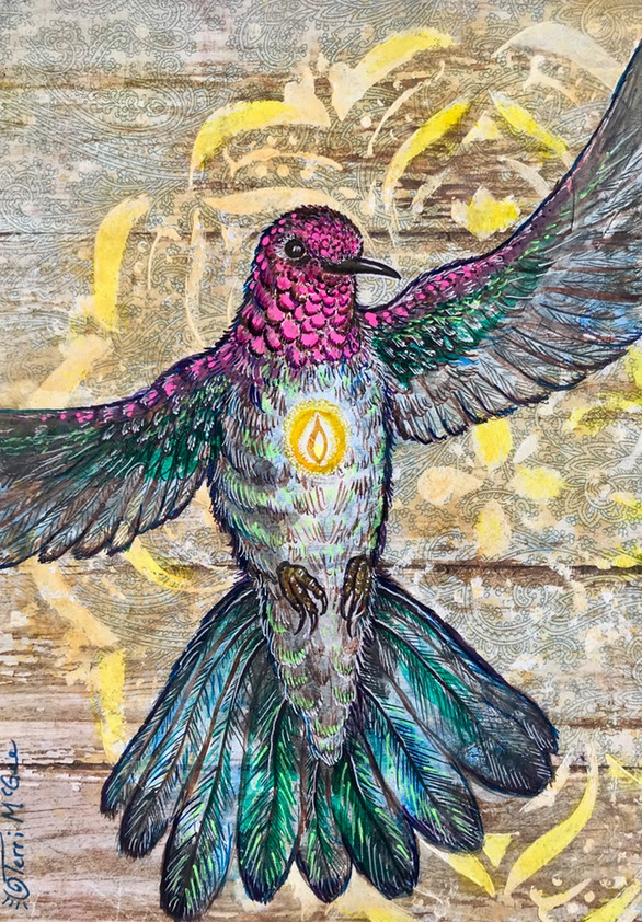 InnerLight Hummingbird16 5x7 paper
