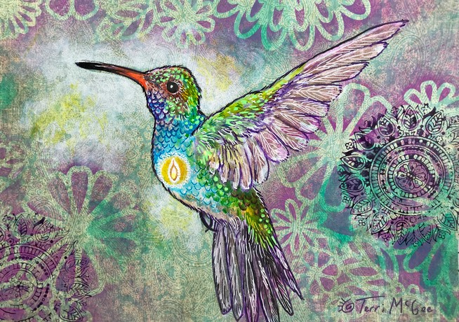 InnerLight Hummingbird17 5x7 paper